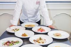 Lo chef Marco Pernati